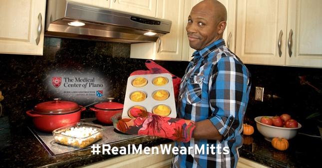 Kitchen safety tips. #RealMenWearMitts
