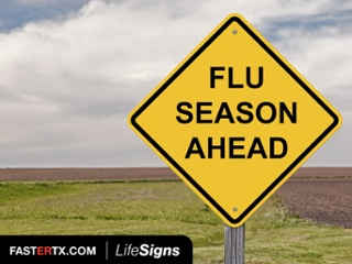 Get your flu shot to help prevent getting sick with flu